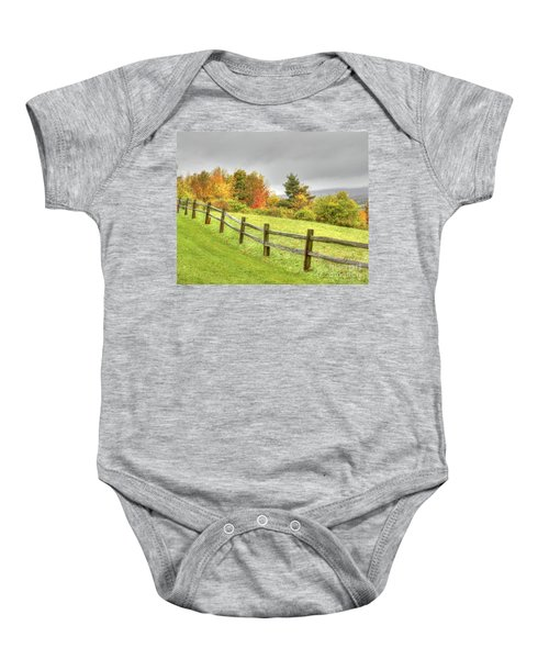A Highland Forest Autumn Baby Onesie