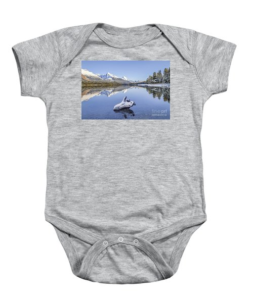 A Kiss Of Winter Baby Onesie