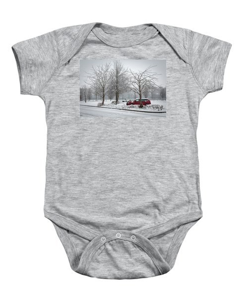 A Lonely Commute Baby Onesie