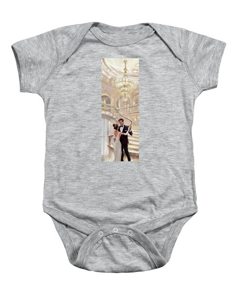 A Moment In Time Baby Onesie