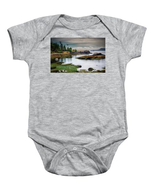 A Peaceful Bay Baby Onesie