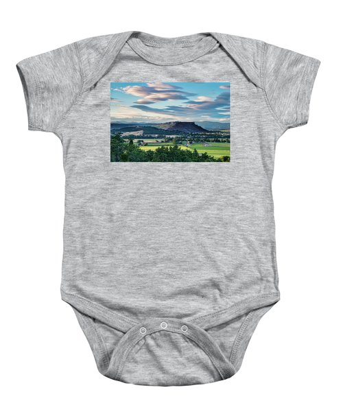 A Peaceful Land Baby Onesie
