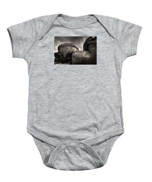 A Peak At The Tower Pictorial Baby Onesie
