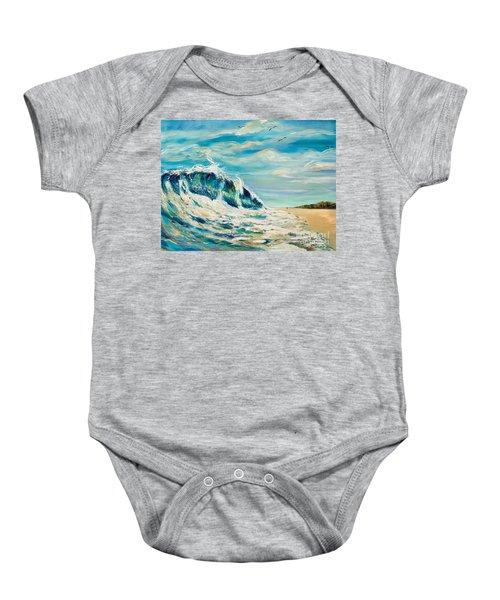 A Sandpiper's View Baby Onesie