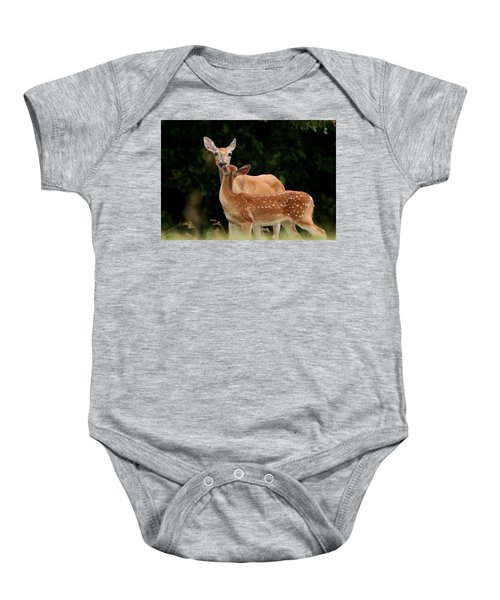 A Tender Moment Baby Onesie