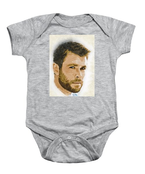 A Tribute To Chris Hemsworth Baby Onesie