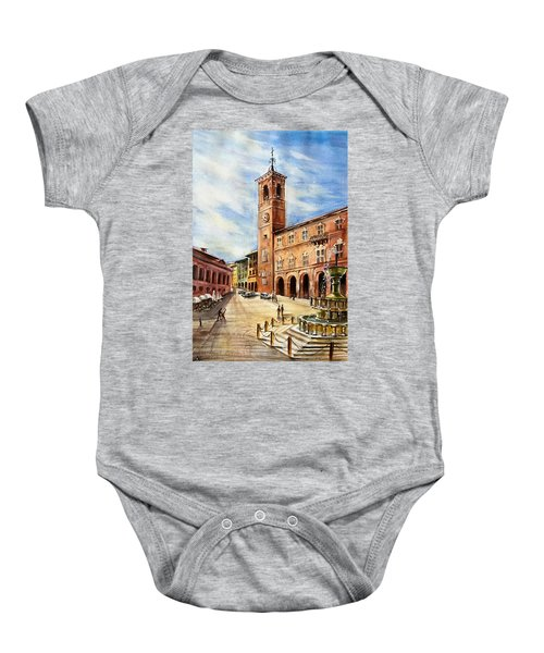 A View From Fabriano Baby Onesie