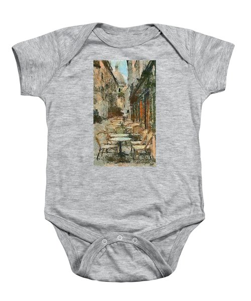 A View On The Sacre Coeur Baby Onesie