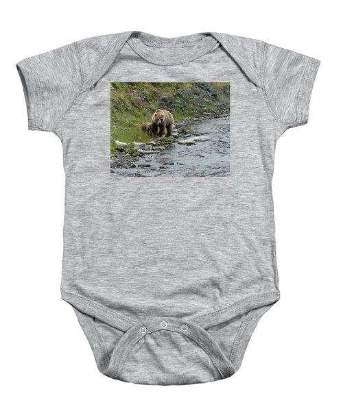 A Walk Along The Creek Baby Onesie
