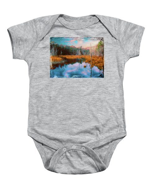 A Wilderness Marsh Baby Onesie