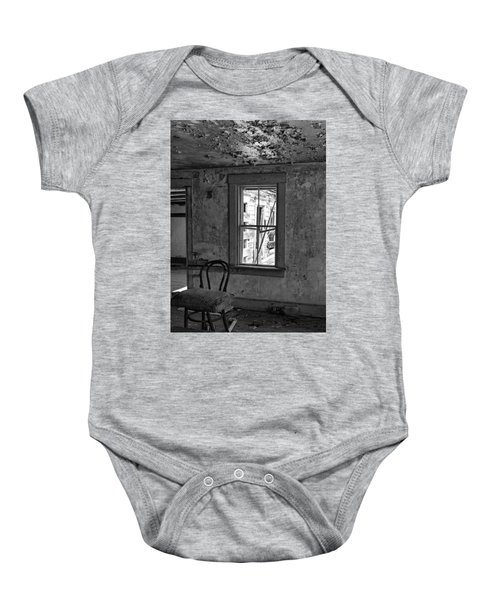 Abandon House Living Room Baby Onesie