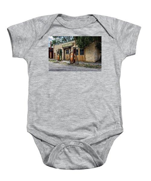 Abandoned Garage Baby Onesie