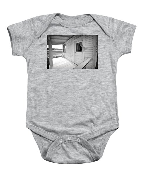 Abandoned Home Baby Onesie