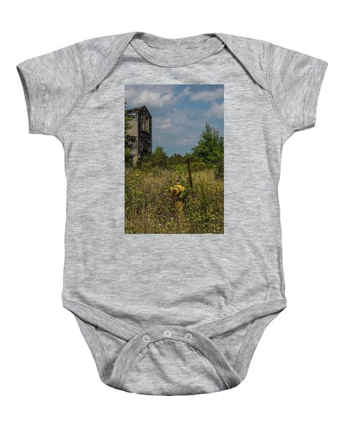 Abandoned Hydrant Baby Onesie