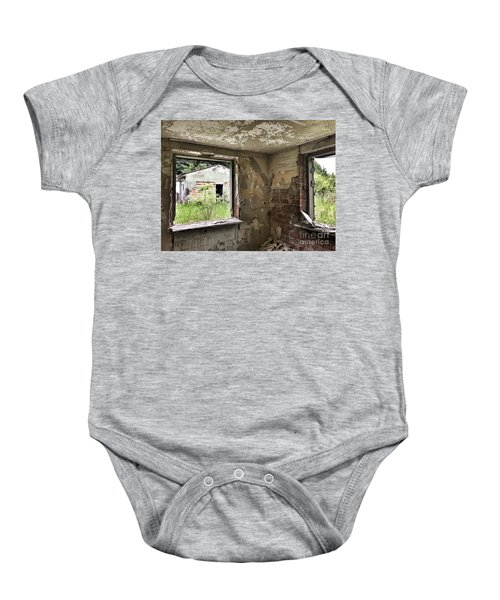 Abandoned Old Ammunition Depot Of The Belgian Army  Baby Onesie
