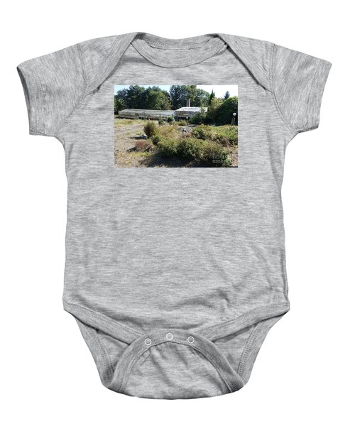 Abanoned Old Horticulture Baby Onesie