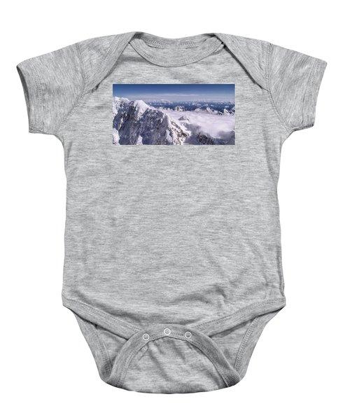 Above Denali Baby Onesie