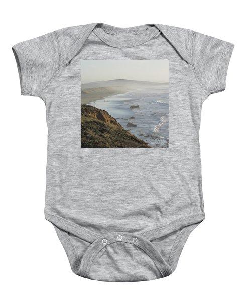 Looking Toward San Francisco Baby Onesie