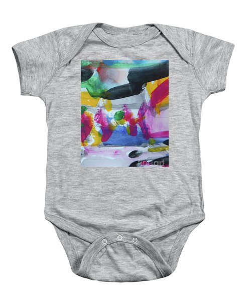 Abstract-17 Baby Onesie