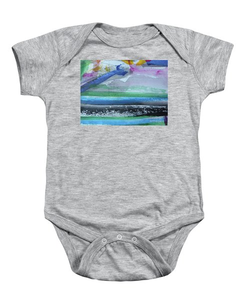 Abstract-18 Baby Onesie
