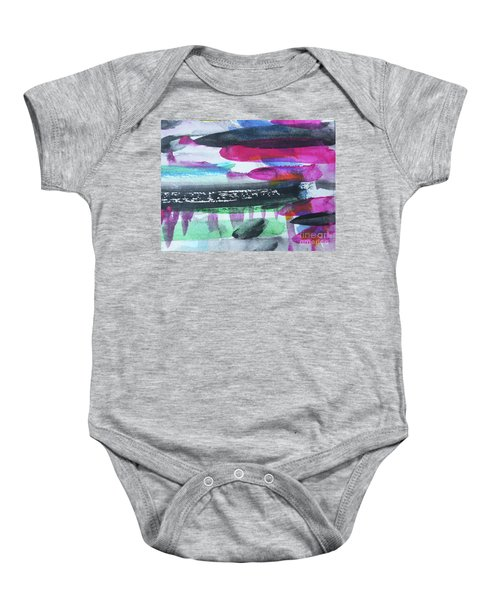 Abstract-19 Baby Onesie