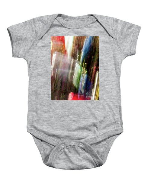 Abstract-4 Baby Onesie