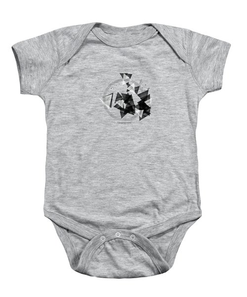 Abstract Art Geometric Shapes No 2 Baby Onesie