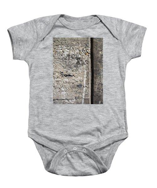Abstract Concrete 16 Baby Onesie