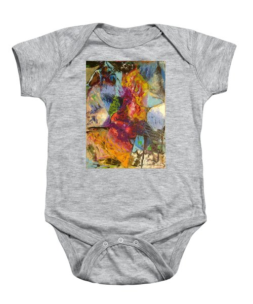 Abstract Depths Baby Onesie