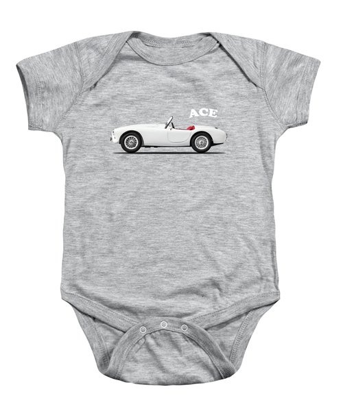 Ac Ace Baby Onesie by Mark Rogan