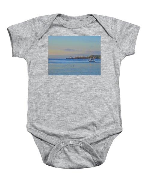 Across The Bay Baby Onesie
