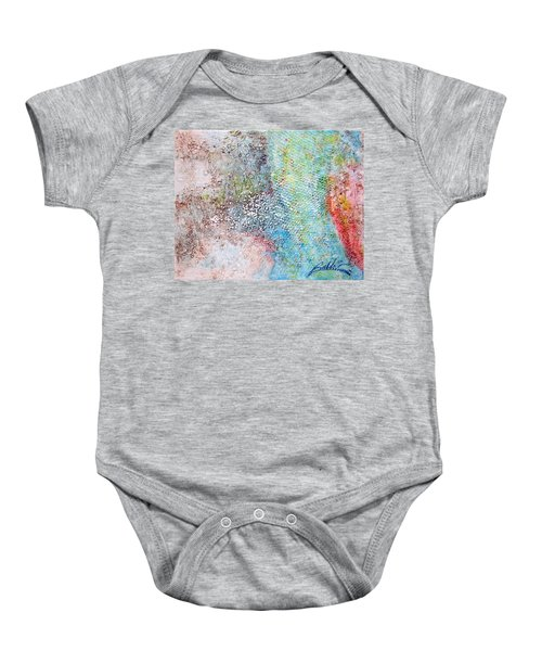 Abstract 201108 Baby Onesie