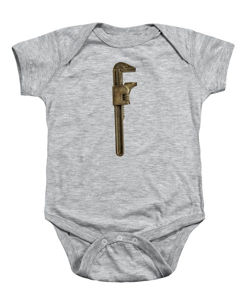 Adjustable Wrench Backside Baby Onesie