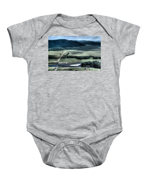 Aerial View Of Rolling Russian Hills Baby Onesie