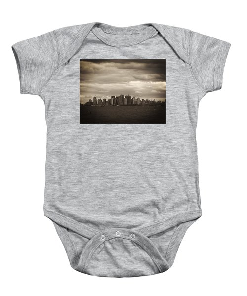 After The Attack Baby Onesie