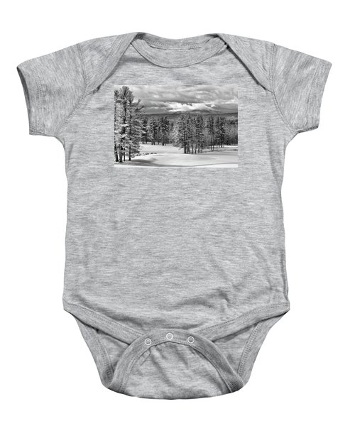 After The Snow  Baby Onesie