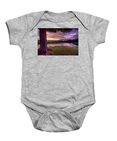 After The Storm At Mapleside Farms Baby Onesie