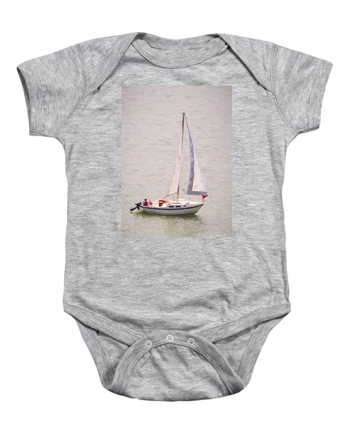 Baby Onesie featuring the photograph Afternoon Sail by James BO Insogna