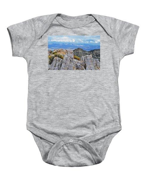 Aguereberry Point Rocks Baby Onesie