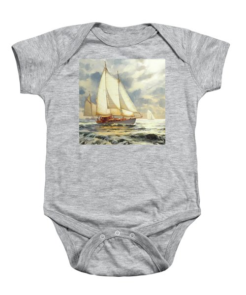 Ahead Of The Storm Baby Onesie