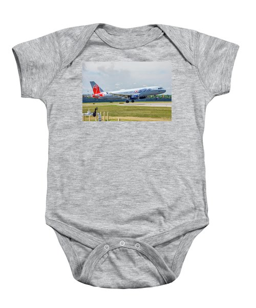 Airbus A320 Boston Strong Baby Onesie