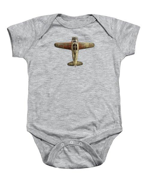 Airplane Scrapper Baby Onesie