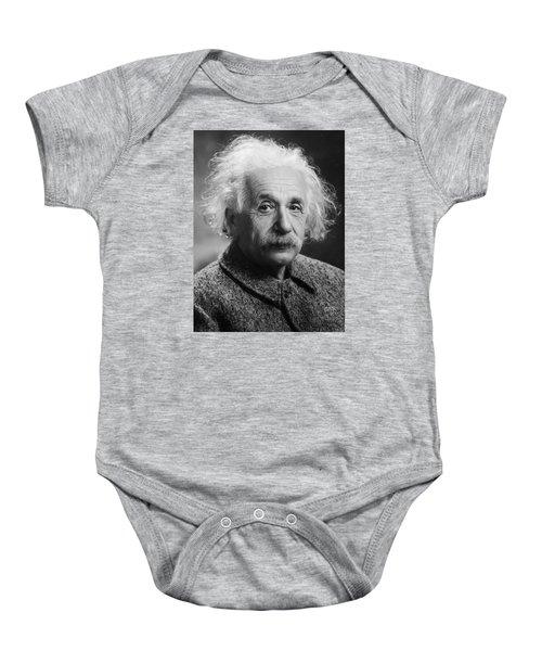 Albert Einstein Baby Onesie