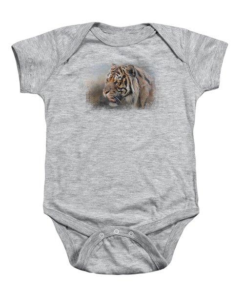 Alert Bengal Baby Onesie