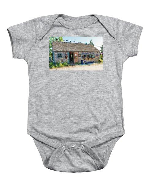 Alfie Glover's Bird Barn Baby Onesie