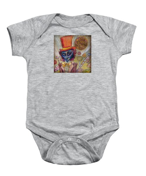 Alien Wonka And The Chocolate Factory Baby Onesie