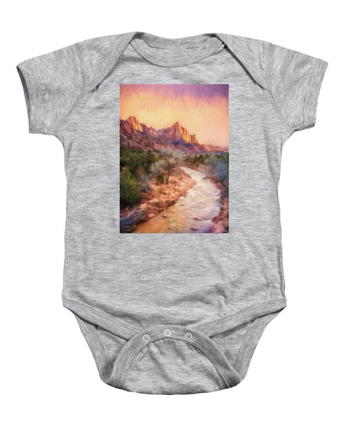 All Along The Watchtower Baby Onesie