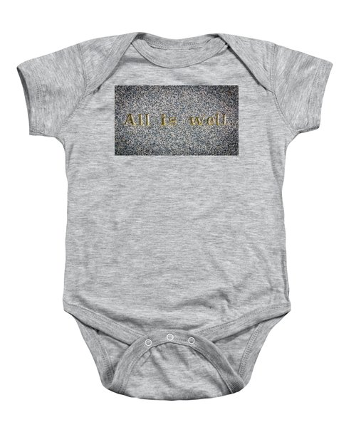 All Is Well Baby Onesie