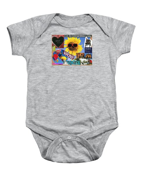 All Of Life Can Inspire Baby Onesie