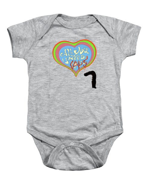 All You Need Is Cats Baby Onesie by Marc Philippe Joly